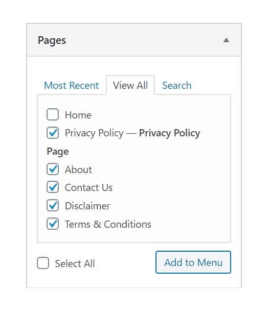 Cara Membuat Halaman Privacy Policy