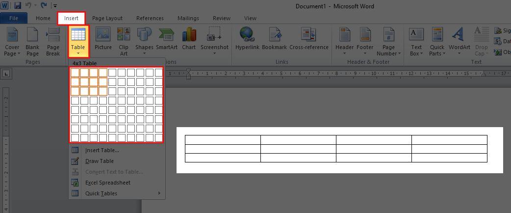 Cara membuat tabel di postingan blog