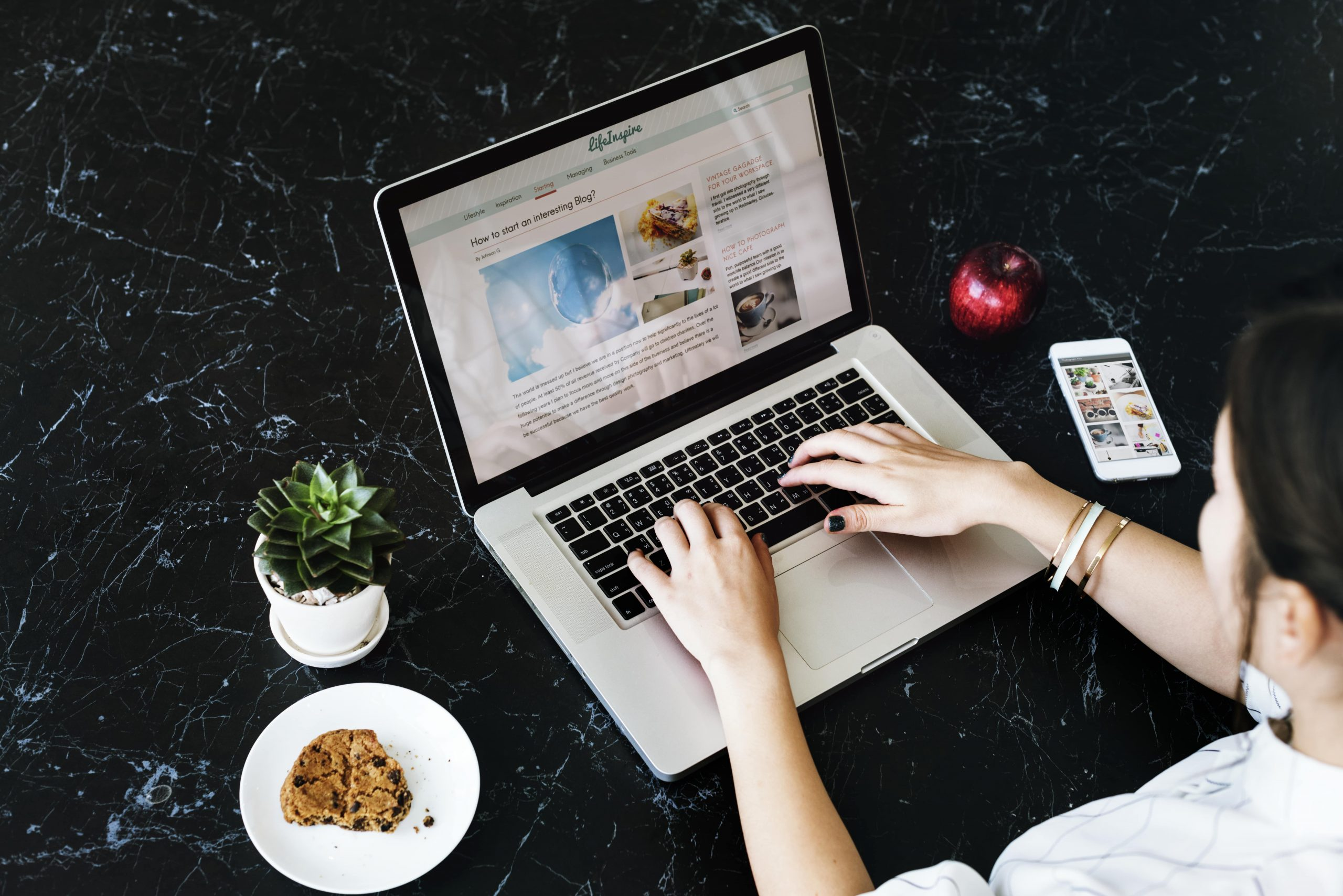 Cara Membuat Blog Makanan